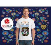 Bulldogos Férfi Póló - Bulldog Streetwear Bulldog Muertos Bulldog mintával BulldogArt