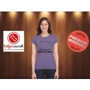 Agaras Női Póló - Agár Greyhound Coffee mintával több színben és minden méretben