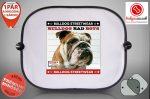 Autós Napellenző - Bulldog Streetwear Bad Boys Lucky Bulldog
