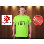 Boxer Férfi Póló - Boxer Gut, Besser, Boxer mintával  több színben