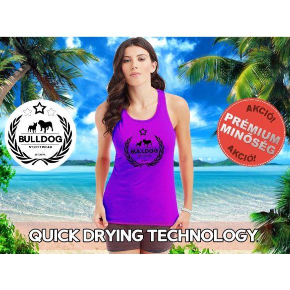 Bulldog Streetwear Női atléta - Bulldog Streetwear Koszorús Logó  mintával