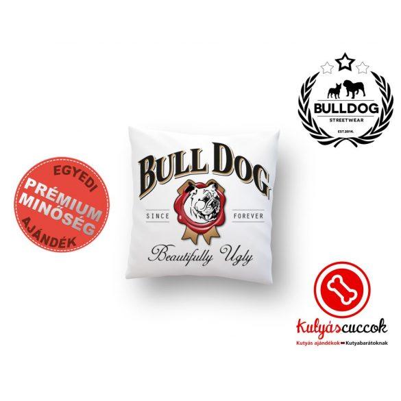 Párna Bulldog Beautyfully Ugly 35x35cm