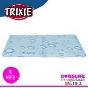 Trixie Bubble Hűsítő zselés matrac 40x50 cm-es Kék (hűsítő matrac/hűtőmatrac/hűtőtakaró/hűtőpléd)