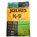 Julius-K9 GF Race Dog Adult Rabbit & Rosemary 2 zsák 2x10kg + AJÁNDÉK VÁLASZTHATÓ 2.990 FT ÉRTÉKBEN! - Gabonamentes Szuperprémium táp Nyúlhússal és Rozmaringgal 10kg.