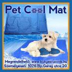 Pet Cool Mat Hűsítő zselés matrac 30x40 cm-es Kék (hűsítő matrac/hűtőmatrac/hűtőtakaró/hűtőpléd) RAKTÁRRÓL!