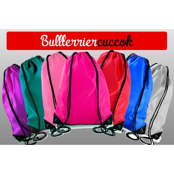Bullterrier Tornazsák színes- Bull Playbull mintával