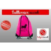 Bullterrier Tornazsák színes- Bull It's Bully Time mintával