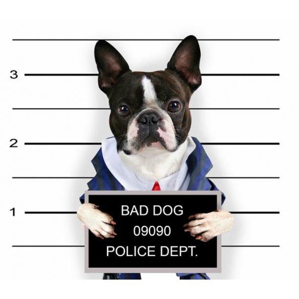 Konyhai Kötény Bulldogos - Francia Bulldog Bad Dog