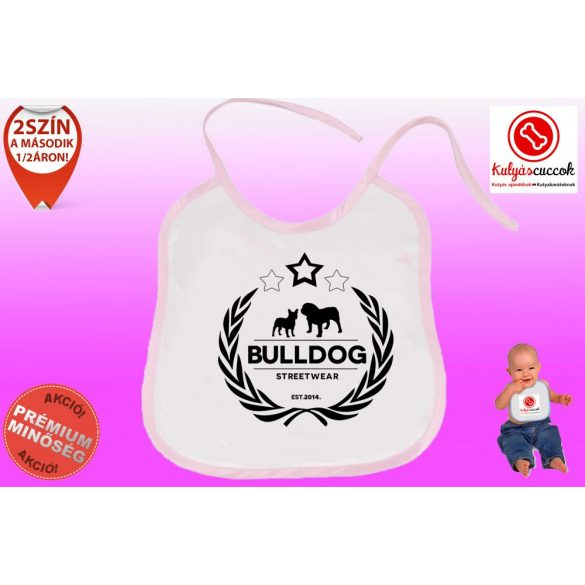 Előke - Bulldog Streetwear Koszorús Logó