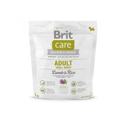 Brit Care Hypoallergenic Száraztáp Adult Small Breed Lamb&Rice 1kg Bárányos Rizses Hypoallergén