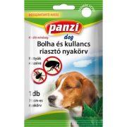 PanziPet Kullancs- és Bolhariasztó nyakörv kis- és nagytestű kutyák részére Fekete 75 cm 304229