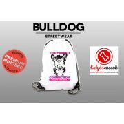 Tornazsák - Bulldog Streetwear The French Connection Neon Pink mintával