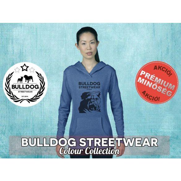Bulldog Streetwear Női kapucnis pulóver - BSW Est.2014. mintával Több színben