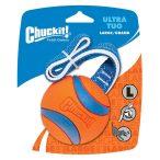 Chuckit! Ultra Tug strapabíró madzagos gumilabda hevederrel L méretben - Nyári Vizes Játék
