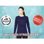 Bulldog Streetwear Női pulóver - BSW Life is better... mintával Több színben