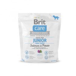 Brit Care Hypoallergenic Junior Large Breed 1kg Gabonamentes Száraztáp Grain Free Salmon&Potato