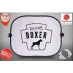 Boxeres Autós Napellenző Napvédő - Gut, Besser, Boxer 2. mintával