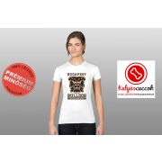 Bulldogos Női Póló - Bulldog Streetwear Budapest Bulldog mintával