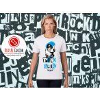 Bulldogos Női Póló - Bulldog Streetwear  British Punk Bulldog mintával BulldogArt