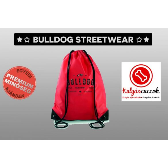 Tornazsák színes- Bulldog Streetwear Vintage mintával