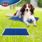 Trixie Hűsítő zselés matrac 40x50 cm-es Kék (hűsítő matrac/hűtőmatrac/hűtőtakaró/hűtőpléd) RAKTÁRRÓL!