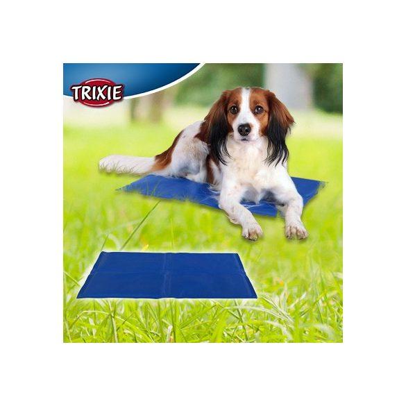 Trixie Hűsítő zselés matrac 40x50 cm-es Kék (hűsítő matrac/hűtőmatrac/hűtőtakaró/hűtőpléd) RAKTÁRON!