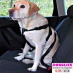 Dogs Life Car Safer Autós Kutyahám + Biztonsági Öv Kutyáknak - Autóban való utazáshoz biztonságos rögzítés RAKTÁRRÓL!