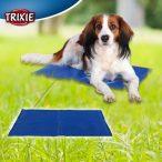 Trixie Hűsítő zselés matrac 110x70 cm-es Kék (hűsítő matrac/hűtőmatrac/hűtőtakaró/hűtőpléd)