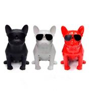 French Bulldog Aerobull Bluetooth Speaker 40cm Vezeték nélküli Bluetooth Hangszóró SoundBox 2x5W 3.5mm TF Card FM Radio Build-in DSP