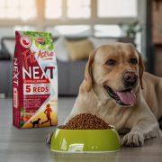 FitActive Next 5 Reds Hypoallegenic vöröshúsos kutyatáp 2x15kg Dupla Csomag