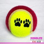 Dogs Life Kutyajáték színes tenisz labda  kb 8cm-es - Játék egész nap