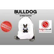 Tornazsák - Francia Bulldog Bad Dog mintával