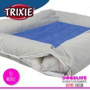 Trixie Luxury Hűsítő zselés fekhely 75x50 cm-es Kék (hűsítő matrac/hűtőmatrac/hűtőtakaró/hűtőpléd)  RENDELÉSRE!!!