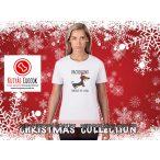 Tacskós Karácsonyi Női Póló - Dachshund Through The Snow 2. mintával