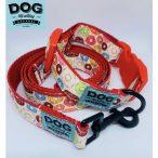 Dog Walking Apparel Fánk nyakörv és póráz szett