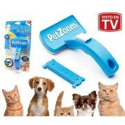 Pet Zoom szőrápoló szőrtelenítő kefe kutyáknak és macskáknak RAKTÁRRÓL!