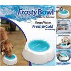 Frosty Bowl Fresh&Cold jégakkus hűtőtál (víz hűsítő tál) 0,5 literes űrtartalommal