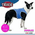 Trixie Hűsítő Köpeny Kék (hűsítő kabát/hűtőkabát/hűtőmellény/hűtőruha) PVA S:25 cm