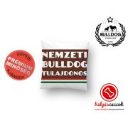 Párna Bulldog Streetwear Nemzeti Bulldog Tulajdonos 35x35cm