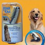 Knot Out Elektromos Szőrcsomó Eltávolító Vágófésű Kutyáknak RAKTÁRRÓL!