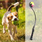 Dogs Life Kutyajáték hajító katapult teniszlabdával kb 45 cm - Játék egész nap