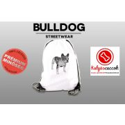 Tornazsák - BulldogArt Fekete-fehér mintával