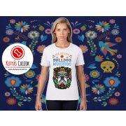 Bulldogos Női Póló - Bulldog Streetwear Bulldog Muertos Bulldog mintával BulldogArt