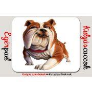 Bulldogos Egérpad - Bulldog 3D