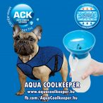 Aqua Coolkeeper hűtőkabát, hűsítőkabát XS + Aqua Dog Hordezható Kutyakulacs AKCIÓS CSOMAG (51-65cm hossz: 32cm)