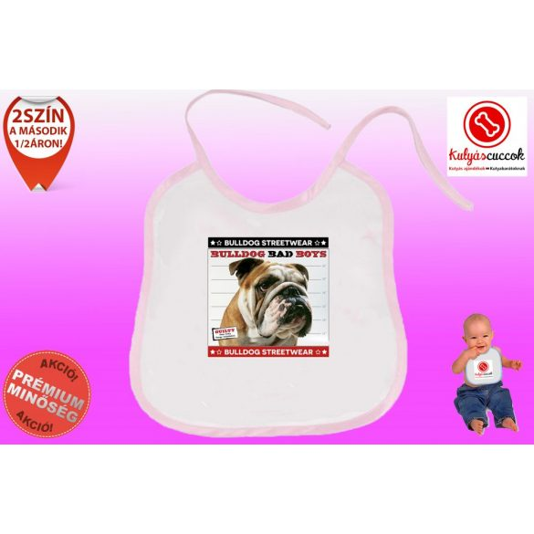 Előke - Bulldog Streetwear Bad Boys Lucky Bulldog
