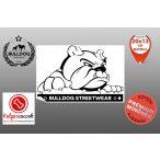 Autós Angol Bulldog Matrica - Bulldog Streetwear Angol Bulldog Minta  20x13cm