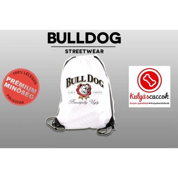 Tornazsák - Bulldog Beautifully Ugly mintával
