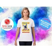 Bulldogos Női Póló - French BulldogArt  Pardon  My Frenchie mintával - Bulldog Streetwear Bulldogos Cuccok