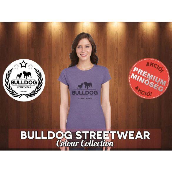 Bulldog Streetwear Női Póló - Klasszikus fekete logó mintával Különböző színekben